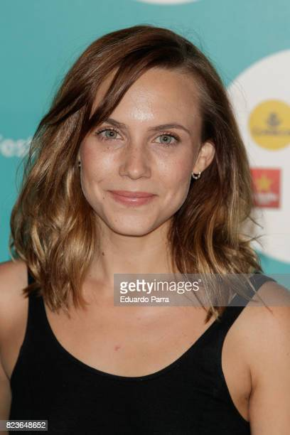 Actress Aura Garrido attends James Rhodes concert at the Royal Theatre on July 27 2017 in Madrid Spain