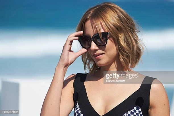 Actress Aura Garrido attends 'La Reconquista' photocall during the 64th San Sebastian International Film Festival on September 22 2016 in San...