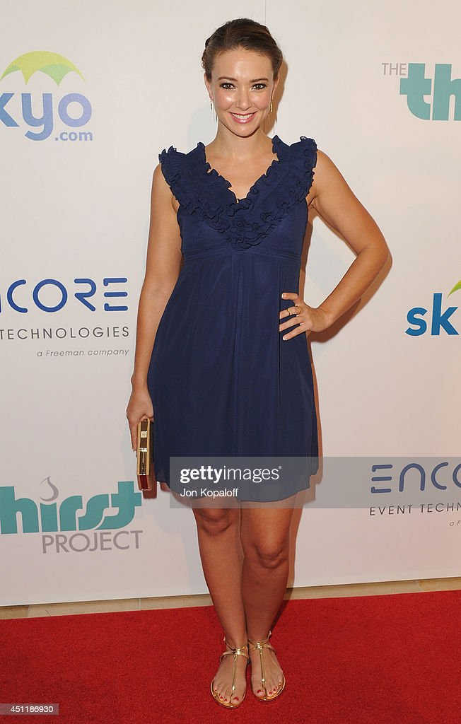 Actress Austin Highsmith arrives at the 5th Annual Thirst Gala at The Beverly Hilton Hotel on June 24, 2014 in Beverly Hills, California.