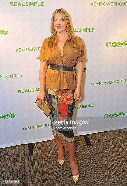 Actress Author Ali Larter attends A Night of Empowering Conversations at the Bently Reserve on May 13 2015 in San Francisco California