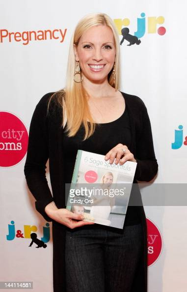 Actress/ author Liza Huber attends Big City Moms Biggest Baby Shower Ever produced by Big City Moms and Fit Pregnancy on May 9 2012 in New York City