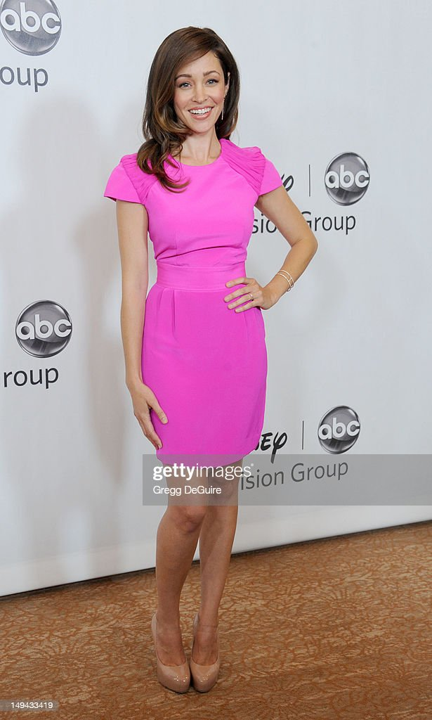 Actress Autumn Reeser arrives at the 2012 Disney ABC Television TCA summer press tour party at The Beverly Hilton Hotel on July 27, 2012 in Beverly Hills, California.