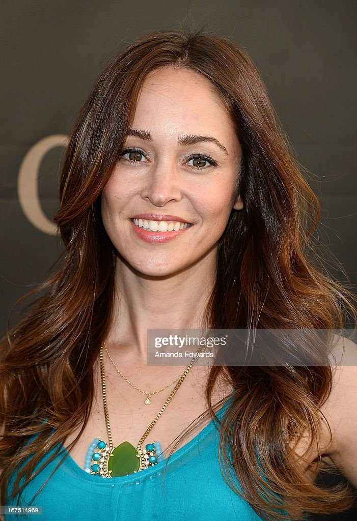 Actress Autumn Reeser arrives at the Modernism opening night preview party benefiting P.S. Arts at The Barker Hanger on April 25, 2013 in Santa Monica, California.