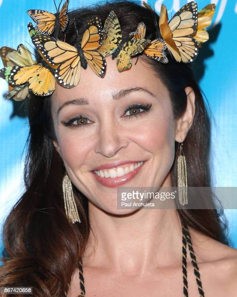 Actress Autumn Reeser attends the 5th Annual UNICEF Masquerade Ball at Clifton's Republic on October 27 2017 in Los Angeles California