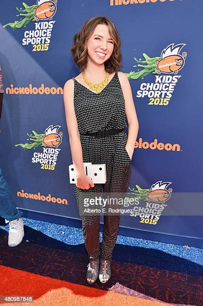 Actress Autumn Wendel attends the Nickelodeon Kids' Choice Sports Awards 2015 at UCLA's Pauley Pavilion on July 16 2015 in Westwood California