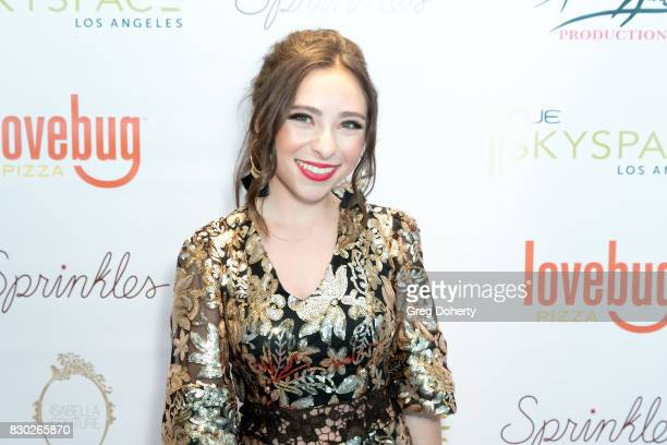Actress Ava Cantrell arrives for Asia Monet's 12th Birthday Party at OUE Skyspace LA on August 10 2017 in Los Angeles California