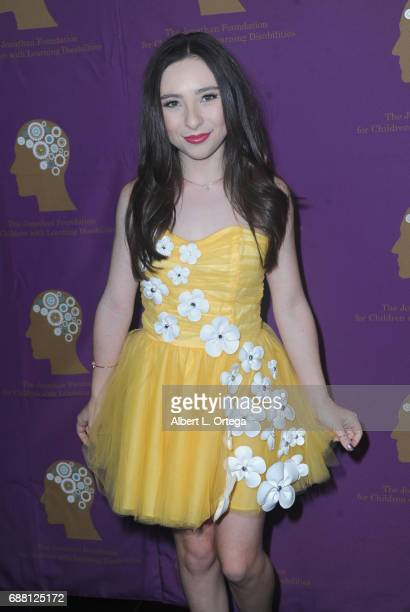 Actress Ava Cantrell arrives for The Jonathan Foundation Presents The 2017 Spring Fundraising Event To Benefit Children With Learning Disabilities...