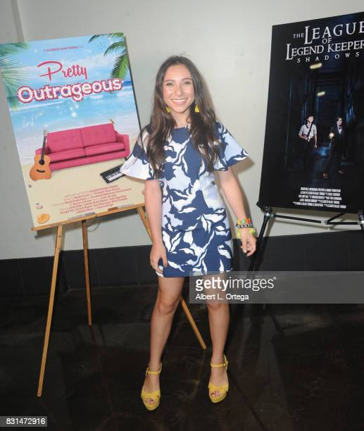 Actress Ava Cantrell attends the Screening Of 'Pretty Outrageous' And 'The League Of Legend Keepers' held at ArcLight Cinemas on August 14 2017 in...