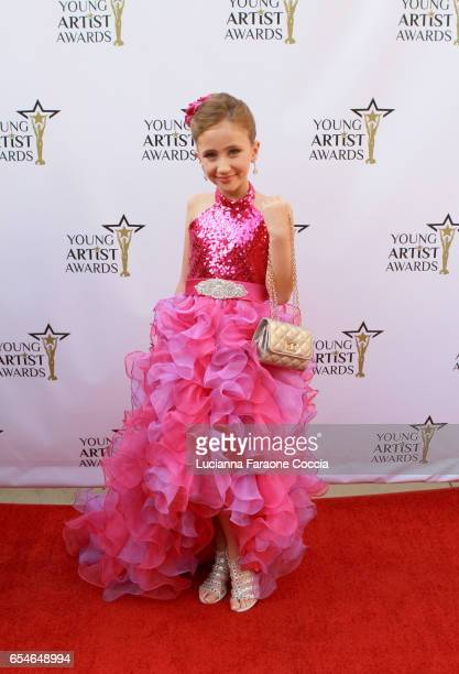 Actress Ava Kolker attends the 38th Annual Young Artists Awards at Alex Theatre on March 17 2017 in Glendale California
