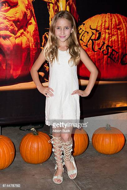 Actress Ava Kolker attends the Rise Of The Jack O'Lanterns at Los Angeles Convention Center on October 13 2016 in Los Angeles California