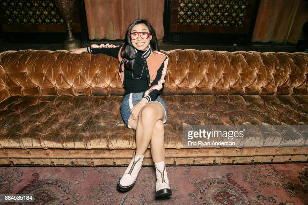 Actress Awkwafina is photographed for The Hollywood Reporter on October 22 2016 in New York City