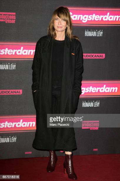 Actress Axelle Laffont attends the 'Gangsterdam' Premiere at Le Grand Rex on March 23 2017 in Paris France