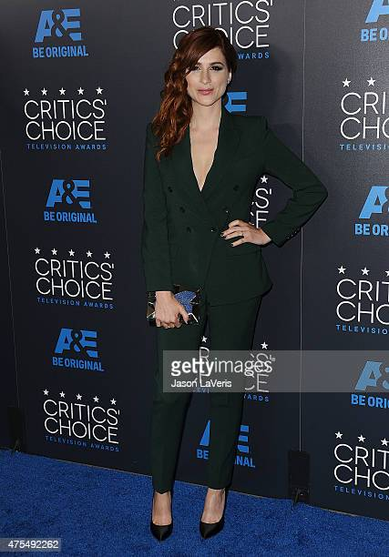 Actress Aya Cash attends the 5th annual Critics' Choice Television Awards at The Beverly Hilton Hotel on May 31 2015 in Beverly Hills California