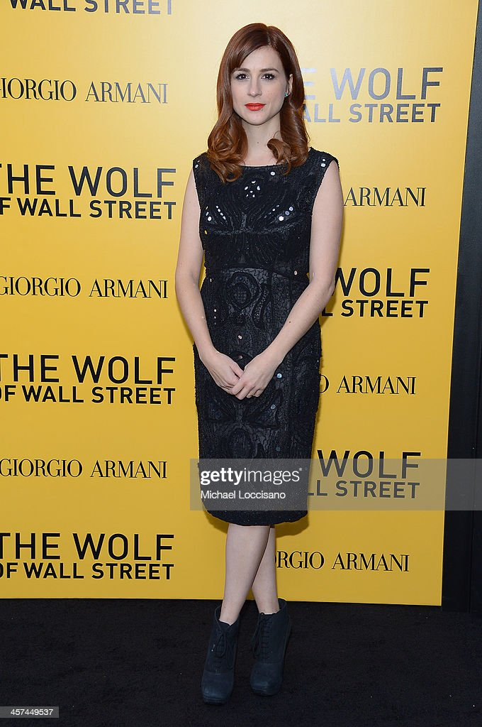 Actress <a gi-track='captionPersonalityLinkClicked' href=/galleries/search?phrase=Aya+Cash&family=editorial&specificpeople=7126120 ng-click='$event.stopPropagation()'>Aya Cash</a> attends the 'The Wolf Of Wall Street' premiere at the Ziegfeld Theatre on December 17, 2013 in New York City.