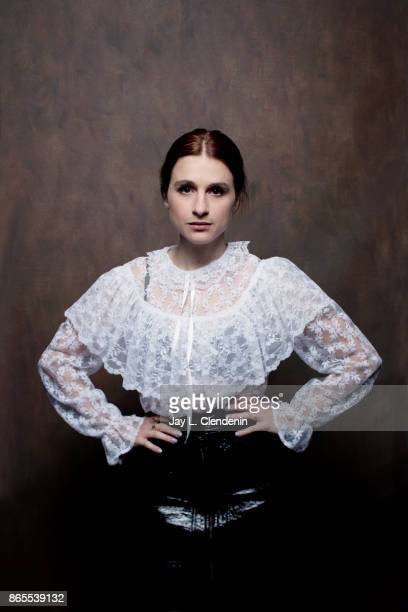 Actress Aya Cash from the film 'Mary Goes Round' poses for a portrait at the 2017 Toronto International Film Festival for Los Angeles Times on...