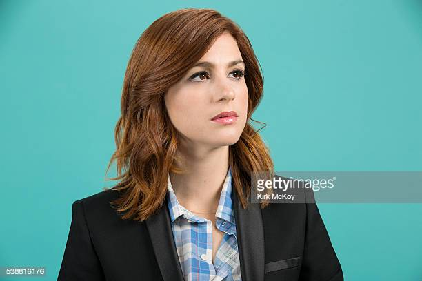Actress Aya Cash is photographed for Los Angeles Times on June 1 2016 in Los Angeles California PUBLISHED IMAGE CREDIT MUST READ Kirk McKoy/Los...