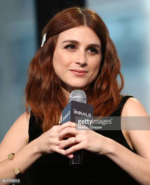 Actress Aya Cash speaks at The Build Series Presents 'You're the Worst' Star Aya Cash at AOL HQ on October 24 2016 in New York City