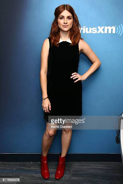 Actress Aya Cash visits the SiriusXM Studios on October 24 2016 in New York City
