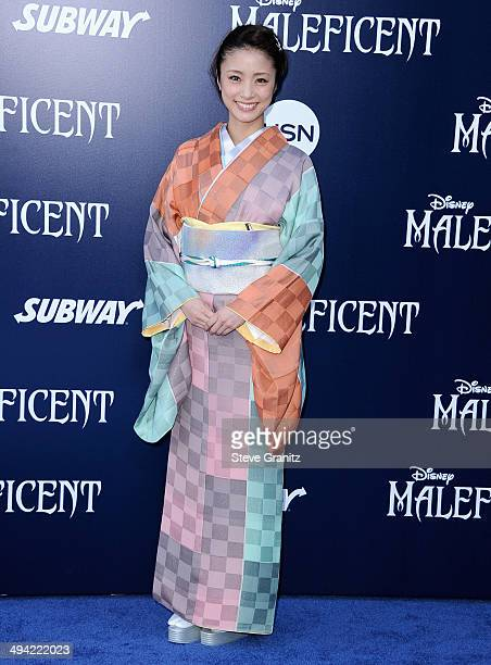 Actress Aya Ueto attends the World Premiere Of Disney's 'Maleficent' at the El Capitan Theatre on May 28 2014 in Hollywood California