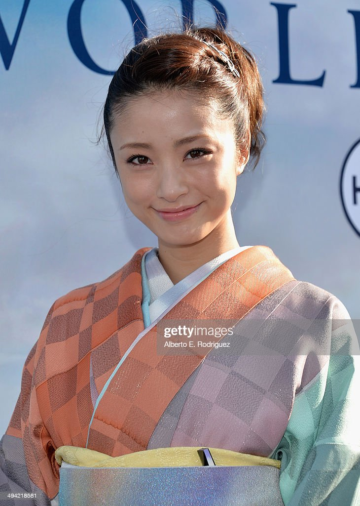 Actress <a gi-track='captionPersonalityLinkClicked' href=/galleries/search?phrase=Aya+Ueto&family=editorial&specificpeople=2116424 ng-click='$event.stopPropagation()'>Aya Ueto</a> attends the World Premiere of Disney's 'Maleficent', starring Angelina Jolie, at the El Capitan Theatre on May 28, 2014 in Hollywood, California.