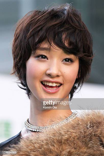 Actress Ayame Goriki attends the 24th Tokyo International Film Festival Opening Ceremony at Roppongi Hills on October 22 2011 in Tokyo Japan One of...