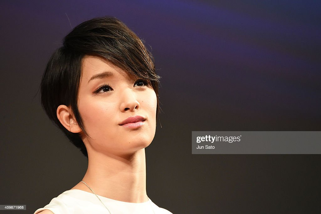 Actress Ayame Goriki attends the premiere for 'Love, Rosie' at Harajuku Quest Hall on December 3, 2014 in Tokyo, Japan.