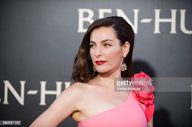 Actress Ayelet Zurer arrives at the premiere of Paramount Pictures' 'Ben Hur' at TCL Chinese Theatre IMAX on August 16 2016 in Hollywood California
