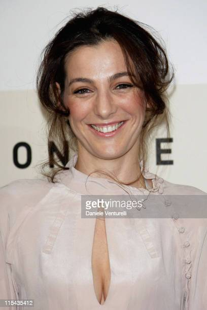 Actress Ayelet Zurer attends a photocall for the movie 'Fugitive Pieces' during day 3 of the 2nd Rome Film Festival on October 20 2007 in Rome Italy