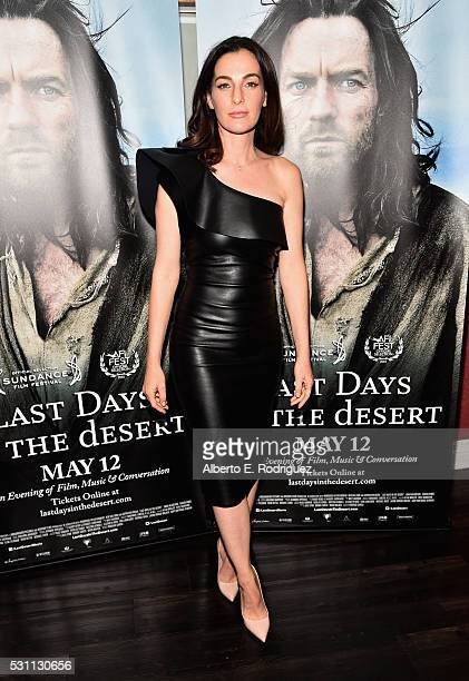 Actress Ayelet Zurer attends a VIP screening of Broad Green Pictures' 'Last Days In The Desert' on May 12 2016 in Los Angeles California