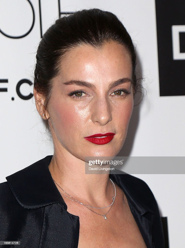 Actress <a gi-track='captionPersonalityLinkClicked' href=/galleries/search?phrase=Ayelet+Zurer&family=editorial&specificpeople=4145060 ng-click='$event.stopPropagation()'>Ayelet Zurer</a> attends the Dahlia Wolf Launch Party at the Graffiti Cafe on October 22, 2013 in Los Angeles, California.