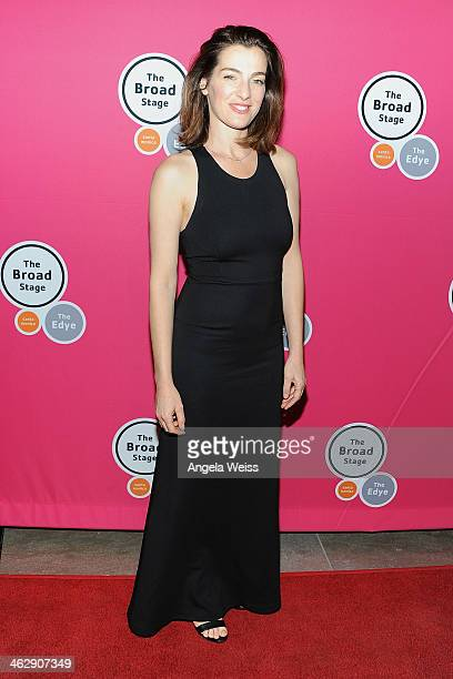 Actress Ayelet Zurer attends the Los Angeles opening night of Denis O'Hare's OneMan Show 'An Iliad' at The Eli and Edythe Broad Stage on January 15...