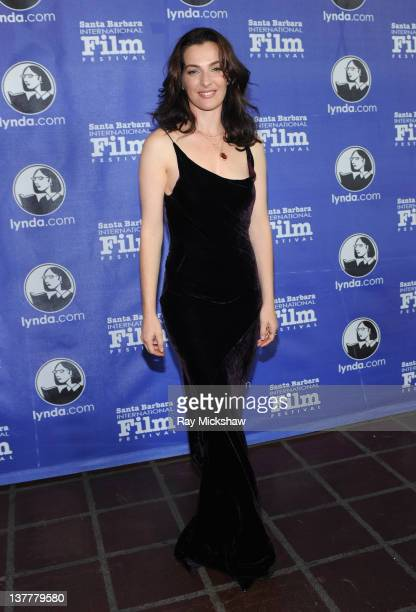 Actress Ayelet Zurer attends the Opening Night Film and Gala of the 2012 Santa Barbara International Film Festival with the World Premiere of...