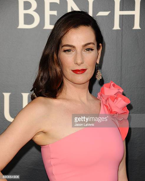 Actress Ayelet Zurer attends the premiere of 'BenHur' at TCL Chinese Theatre IMAX on August 16 2016 in Hollywood California