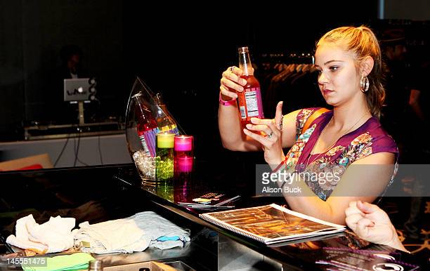 Actress Ayla Kell attends Kari Feinstein's MTV Movie Awards Style Lounge at the W Hollywood on June 1 2012 in Hollywood California