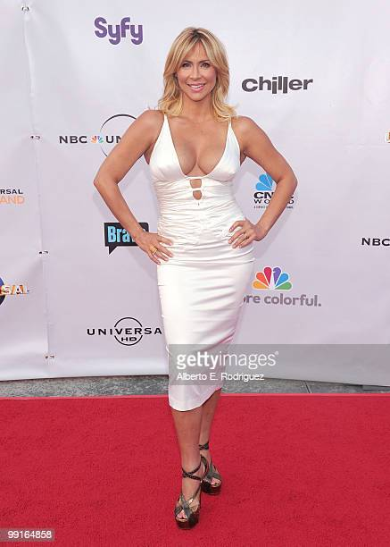 Actress Aylin Mujica arrives at The Cable Show 2010 'An Evening With NBC Universal' on May 12 2010 in Universal City California