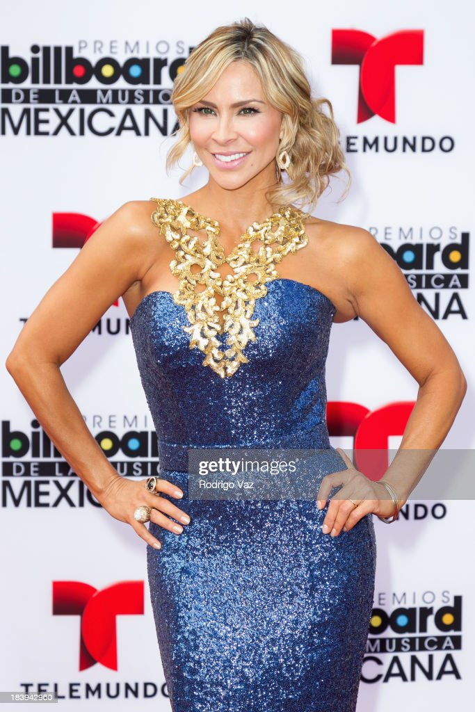 Actress Aylin Mujica attends the 2013 Billboard Mexican Music Awards arrivals at Dolby Theatre on October 9, 2013 in Hollywood, California.