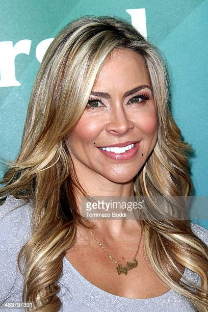 Actress Aylin Mujica attends the NBC/Universal 2014 TCA Winter Press Tour held at The Langham Huntington Hotel and Spa on January 19 2014 in Pasadena...