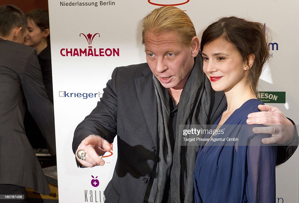Actress Aylin Tezel and Ben Becker attend the 6th Askania Award 2013 on February 5, 2013 in Berlin, Germany.