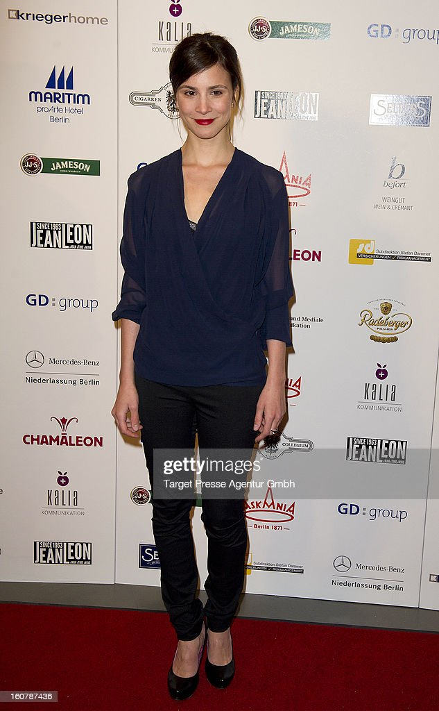 Actress Aylin Tezel attends the 6th Askania Award 2013 on February 5, 2013 in Berlin, Germany.