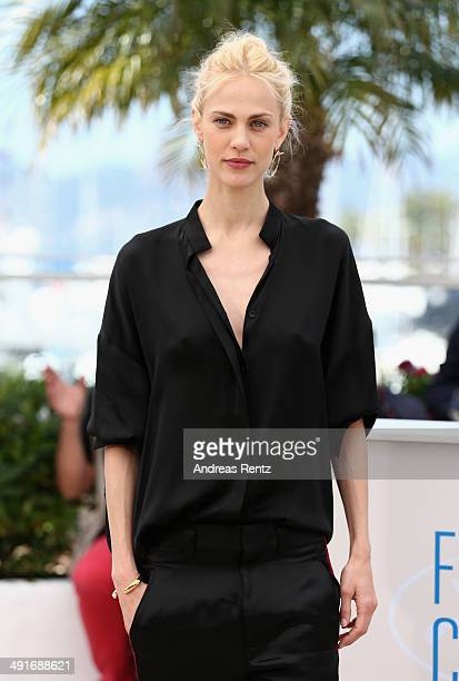 Actress Aymeline Valade attends the 'Saint Laurent' photocall during the 67th Annual Cannes Film Festival on May 17 2014 in Cannes France