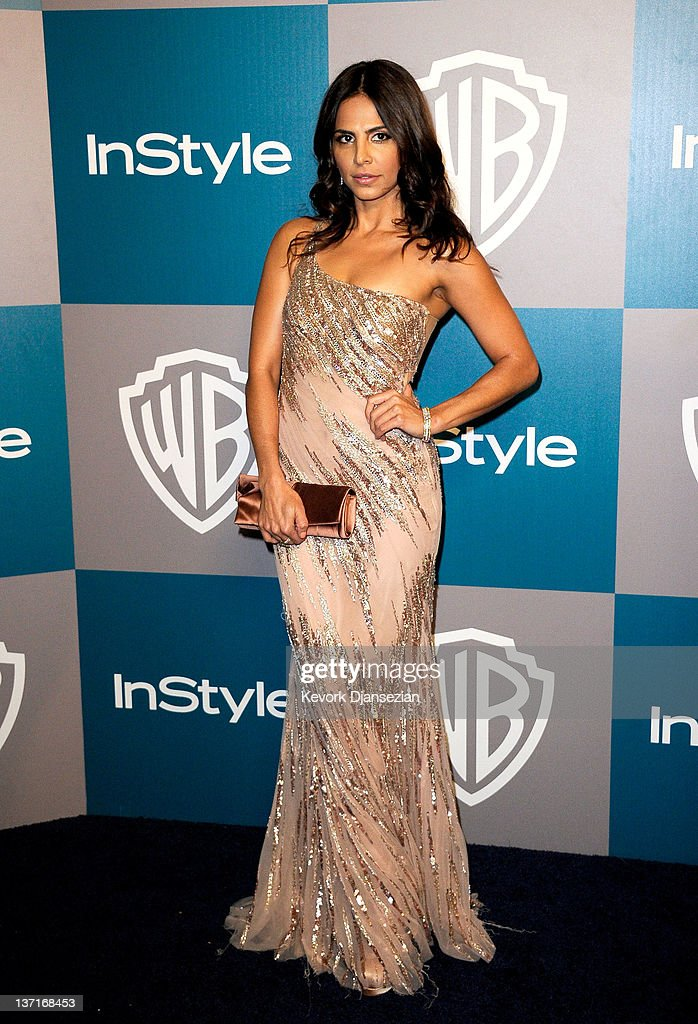 Actress Azita Ghanizada arrives at 13th Annual Warner Bros. And InStyle Golden Globe Awards After Party at The Beverly Hilton hotel on January 15, 2012 in Beverly Hills, California.