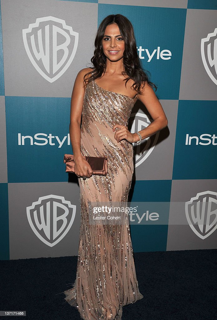 Actress Azita Ghanizada arrives at the 13th Annual Warner Bros. and InStyle Golden Globe After Party held at The Beverly Hilton hotel on January 15, 2012 in Beverly Hills, California.