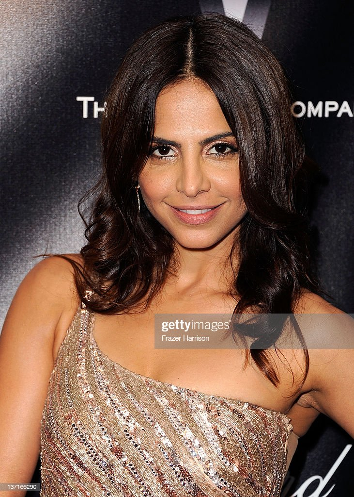 Actress Azita Ghanizada arrives at The Weinstein Company's 2012 Golden Globe Awards After Party held at The Beverly Hilton hotel on January 15, 2012 in Beverly Hills, California.