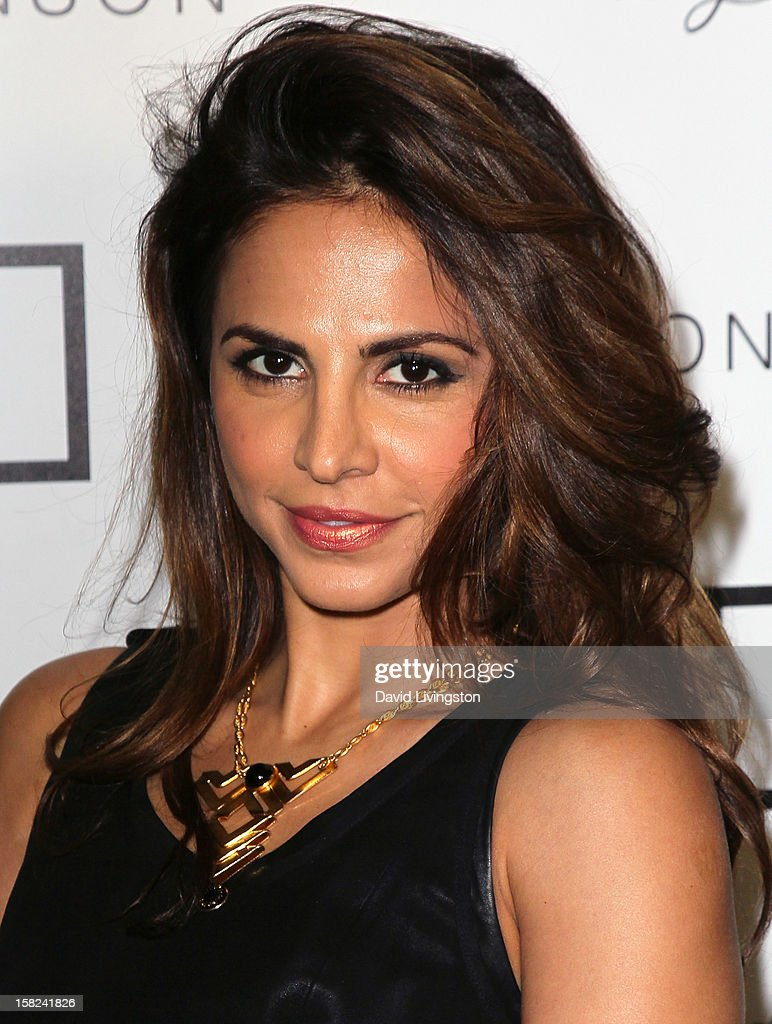 Actress Azita Ghanizada attends the 'I Heart Ronson' Collection and jcpenney celebration at The Bungalow on December 11, 2012 in Santa Monica, California.