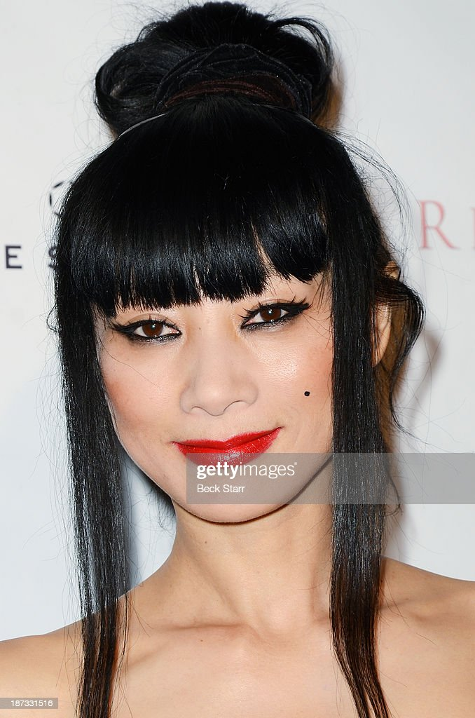 Actress Bai Ling arrives at Canadian Consul General honors fashion designer Dalia MacPhee on November 7, 2013 in Los Angeles, California.