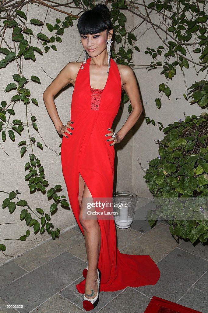 Actress <a gi-track='captionPersonalityLinkClicked' href=/galleries/search?phrase=Bai+Ling&family=editorial&specificpeople=201459 ng-click='$event.stopPropagation()'>Bai Ling</a> arrives at the Sunset Marquis Hotel 50th anniversary birthday bash at Sunset Marquis Hotel & Villas on November 16, 2013 in West Hollywood, California.