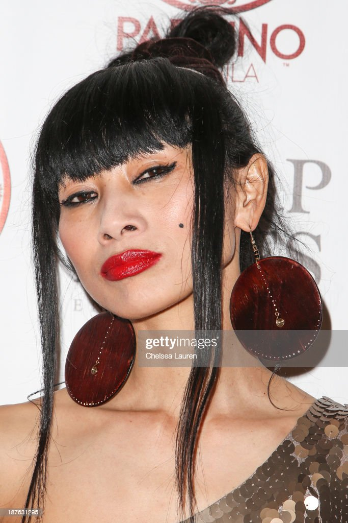 Actress <a gi-track='captionPersonalityLinkClicked' href=/galleries/search?phrase=Bai+Ling&family=editorial&specificpeople=201459 ng-click='$event.stopPropagation()'>Bai Ling</a> arrives at Tommy Davidson's birthday celebration at H.O.M.E. on November 10, 2013 in Beverly Hills, California.