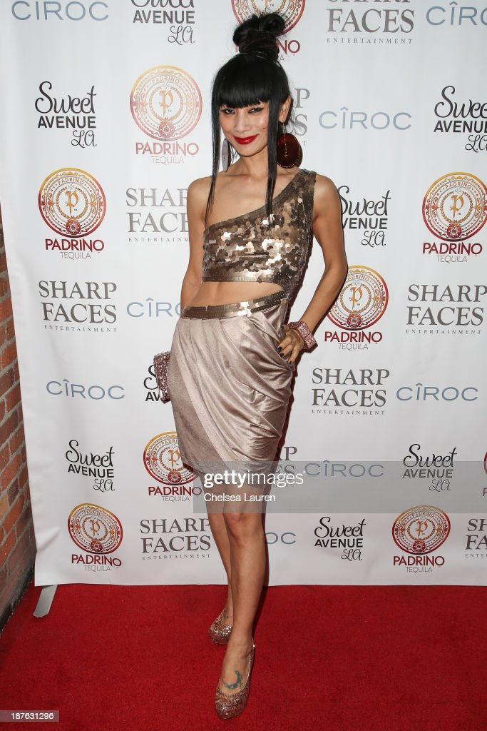 Actress Bai Ling arrives at Tommy Davidson's birthday celebration at H.O.M.E. on November 10, 2013 in Beverly Hills, California.