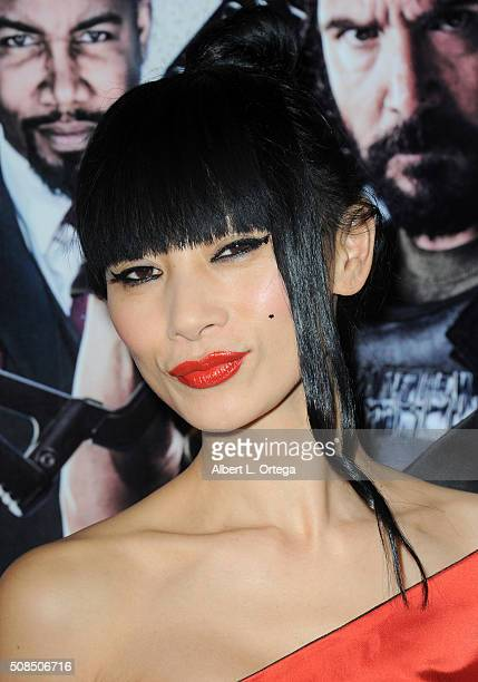 Actress Bai Ling arrives for the screening of Oscar Gold Productions' 'Vigilante Diaries' held at ArcLight Hollywood on February 4 2016 in Hollywood...