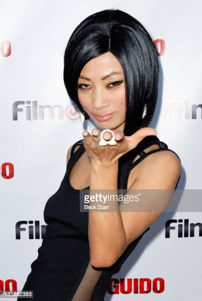 Actress Bai Ling arrives to the Los Angeles screening of 'Guido' at Writers Guild Theater on June 17 2011 in Beverly Hills California
